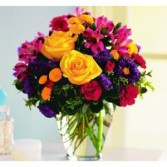 Blissful Garden Vase Arrangement