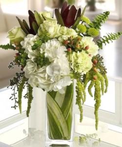 Blissful Harmony  Contemporary Vase