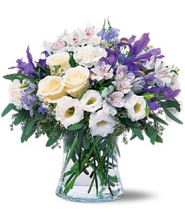 Blissful in Blue Floral Bouquet