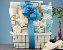 Blissful Vanilla Spa Experience Gift Basket