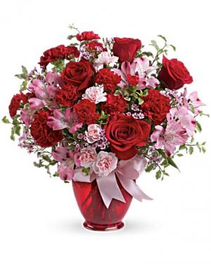 Blissfully Yours Bouquet in Jasper, TX | BOBBIE'S BOKAY FLORIST