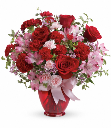 Blissfully Yours Bouquet HEV382B