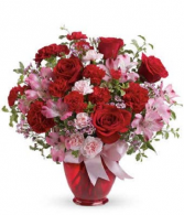 Blissfully Yours Valentine Day Arrangement