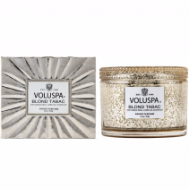 BLOND TABAC Boxed Candle By Voluspa