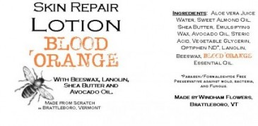 BLOOD ORANGE Made from Scratch Natural Hand Lotion Our own luxurious shea butter, beeswax and lanolin hand lotion !