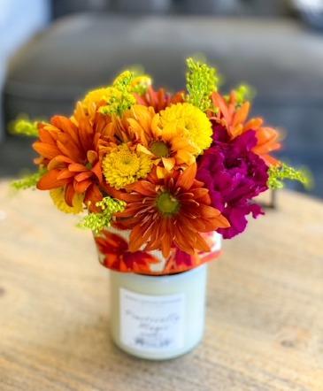 Bloom and Glow Gift Arrangement