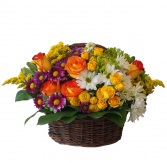 Bloom Basket Flower Basket
