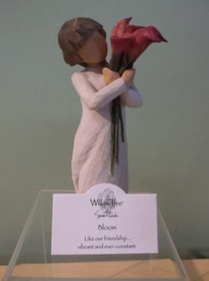 """BLOOM"" WILLOW TREE FIGURINE  in Springfield, VT | WOODBURY FLORIST"