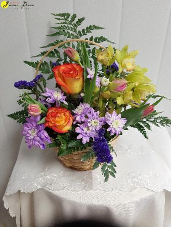 Spring-Bloomin Basket