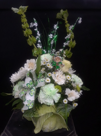 Bloomin' Cabbage Holiday Arrangement