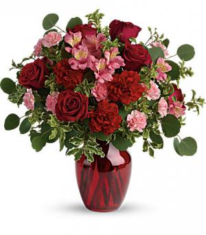 Blooming Belles Bouquet Love and Romance in Lauderhill, FL   BLOSSOM STREET FLORIST