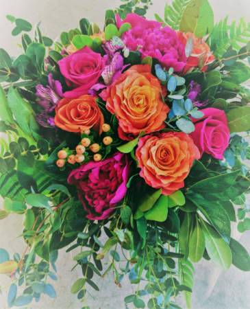 Blooming Bridal Bouquet In House Special