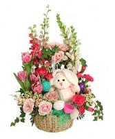 Blooming Bunny Basket Easter