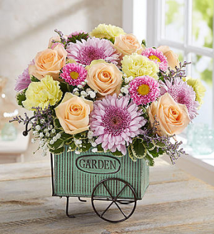 Blooming Garden Cart™  in Valley City, OH | HILL HAVEN FLORIST & GREENHOUSE