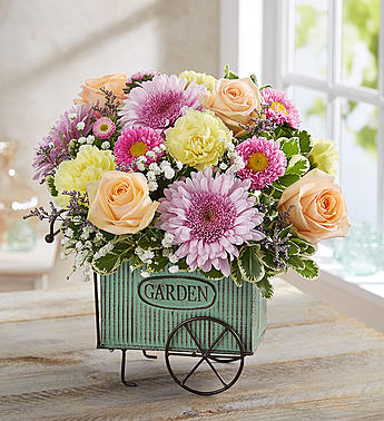 BLOOMING GARDEN CART
