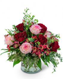 Blooming Heart Flower Arrangement