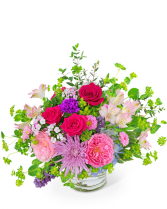 Blooming in Color Flower Arrangement