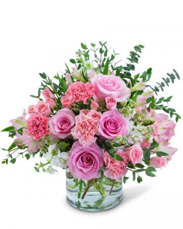 Blooming in Paris Flower Arrangement