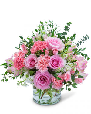 Blooming in Paris Flower Arrangement in Nevada, IA | Flower Bed