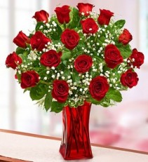 BLOOMING LOVE  RED ROSES 12 stem red roses $45 24 red roses sale$55