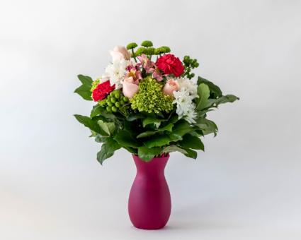 Blooming Love Vased Arrangement