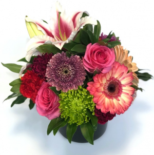 Blooming Medley Vase Arrangement in Invermere, BC   INSPIRE FLORAL BOUTIQUE