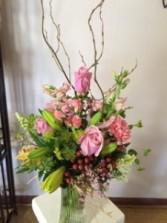 Blooming Pretty Vase Arrangement