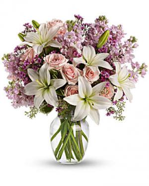 Blooming Romance Bouquet in Jasper, TX | BOBBIE'S BOKAY FLORIST