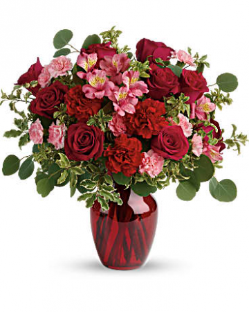 BLOOMING ROMANCE Vase Arrangement