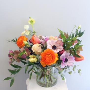 Garden Style Vase Arrangement (Large)