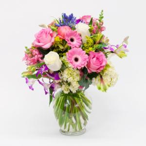 BLOOMING SPRING Vase Arrangement in Longview, TX | ANN'S PETALS