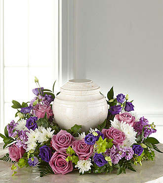 FTD's Blooming Sympathy Cremation Adornment