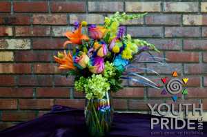 Blooming with PRIDE Vase in Pawtucket, RI | THE FLOWER SHOPPE