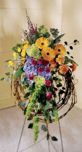 Blooming Wreath Sympathy
