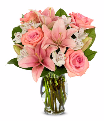Bloomnet's Pink Perfection Bouquet