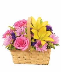Bloomnet's Springtime Delight Basket