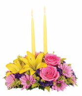 Bloomnet's Springtime Delight Centerpiece
