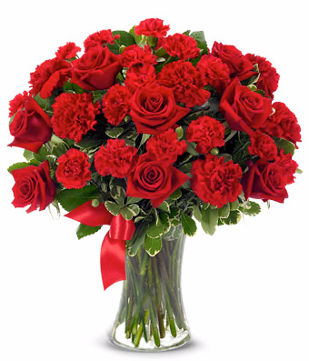 Bloomnet's You're In My Heart Bouquet