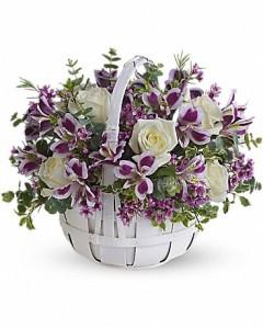 Blooms Basket Fresh Arrangement