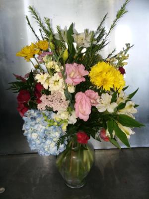 Blooms Galore Vase in Norway, ME | Green Gardens Florist & Gift Shop