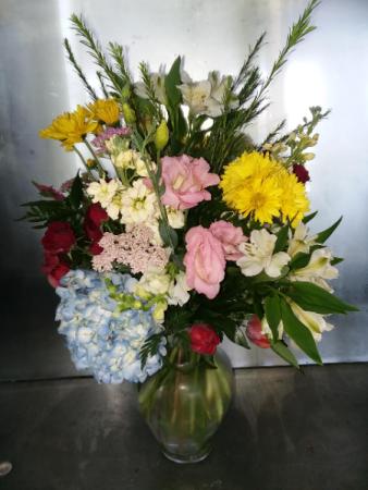 Blooms Galore Vase