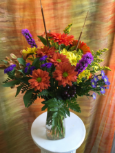 Blooms of Gratitude Vase Arrangement