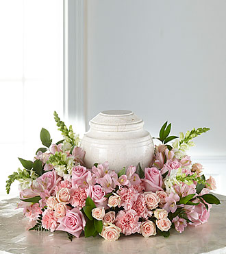 The FTD Blooms of Hope Cremation Adornment