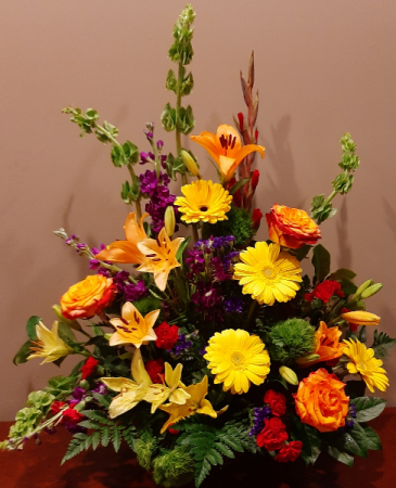 Blooms to Harvest Funeral Flowers