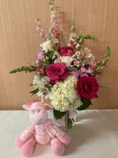 Blossom Baby - Pink Vase Arrangement