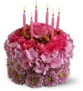Blossom Birthday Cake Floral Bouquet