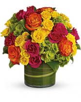 Blossom In Vogue Vase Arrangement