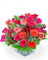 Blossoming Bellini Flower Arrangement