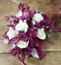 Blossoming Burgundy  Prom