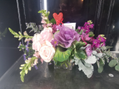 Adoring Devotion MIXED VALENTINE ARRANGEMENT